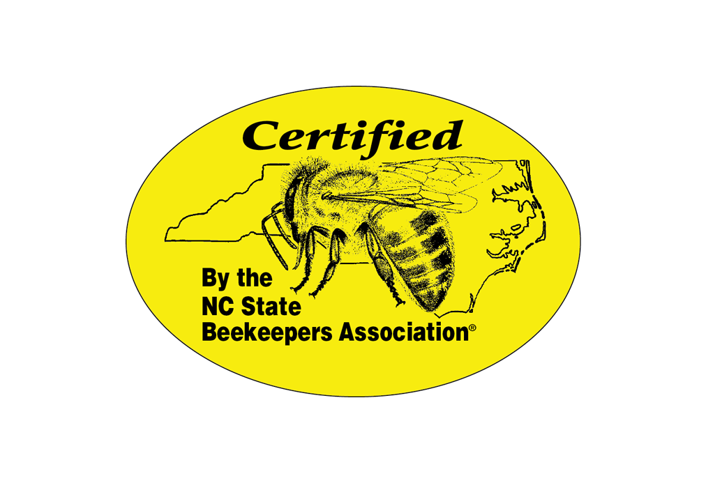 Certified Honey Label - Medium  (roll of 500)