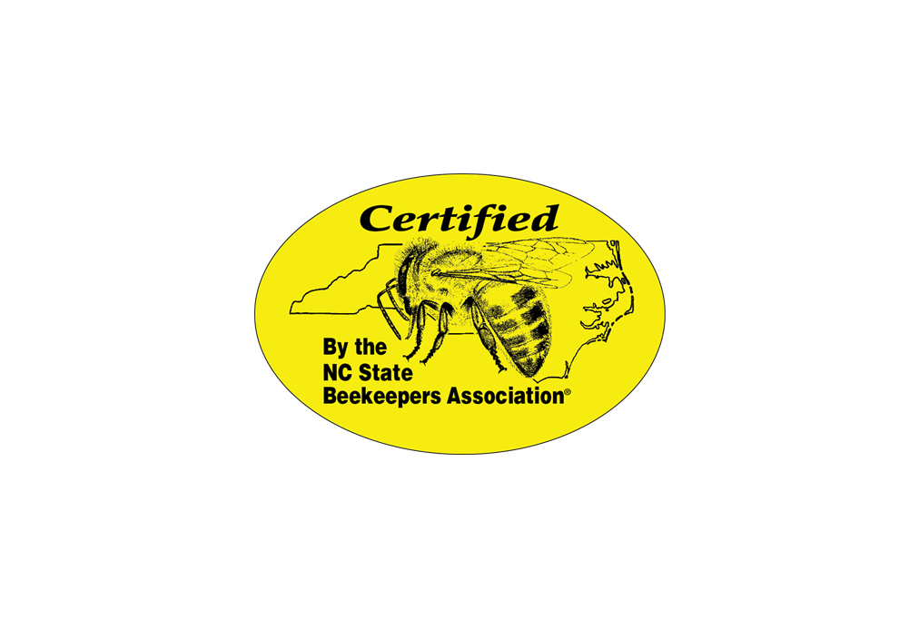 Certified Honey Label - Small (roll of 500)