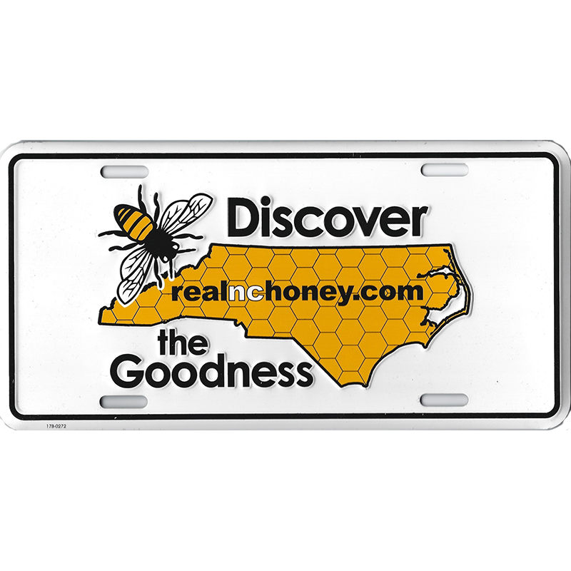 Discover the Goodness Vehicle Tag