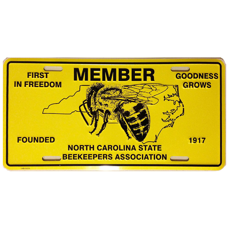 NCSBA Member Vehicle Tag