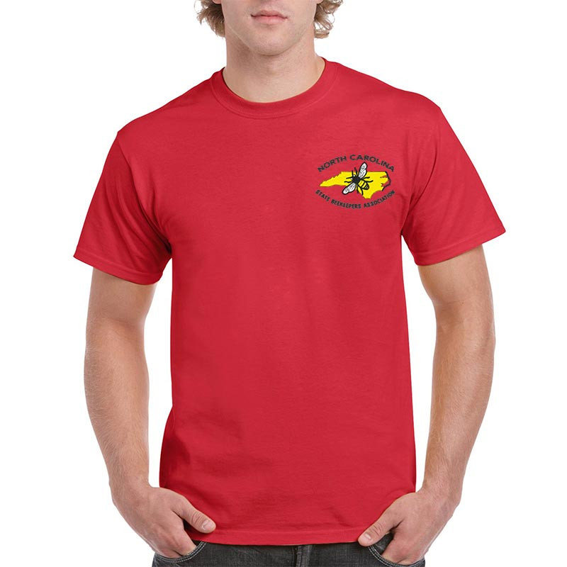 NCSBA Embroidered Men's T-Shirt