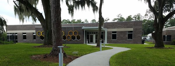 University of Florida Honey Bee Lab exterior