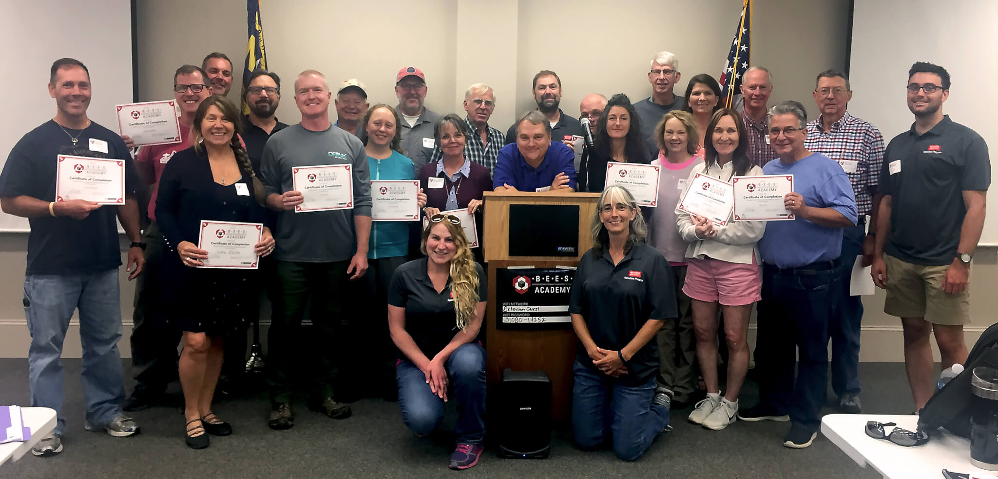 2019 Mountain BEES Academy Participants